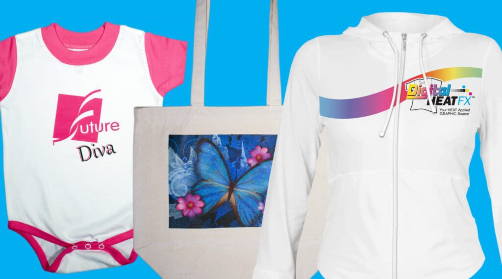 picture of clothing items using the best white toner transfer paper